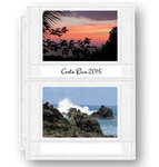 Double Weight 4x6 Photo Pocket Pages With ID Labels
