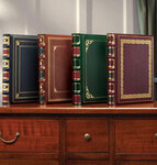 Library Leather Photo Album