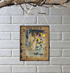 Lighted Get Your Wings Canvas