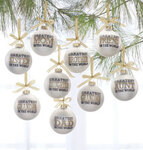 Greatest in the World Glass Ball Ornament
